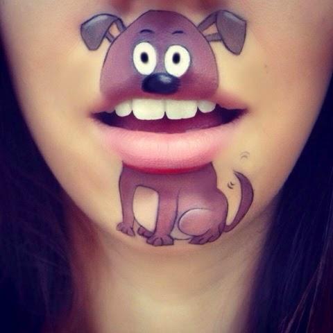 maquillage-bouche-chien