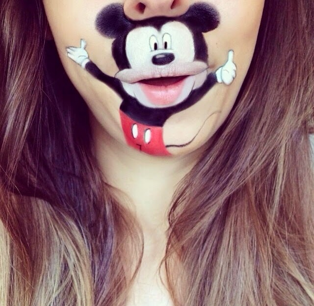 maquillage-bouche-mickey