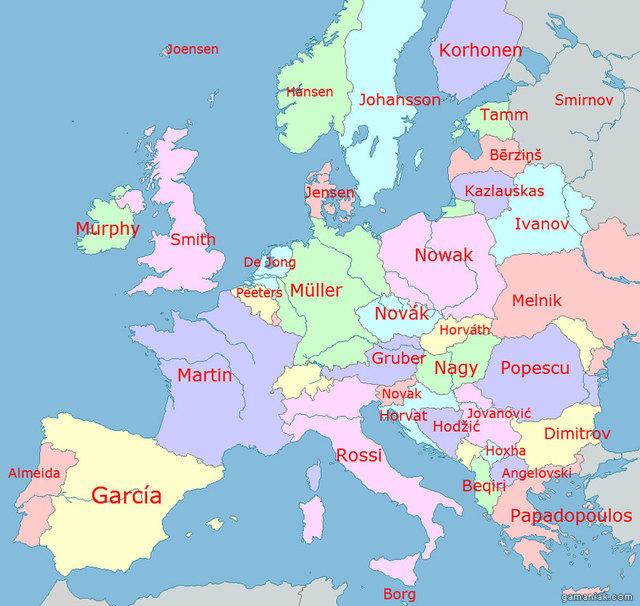 carte-europe-prenom-par-pays
