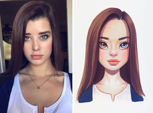 celebrites-dessinees-lera-kiryakova-22