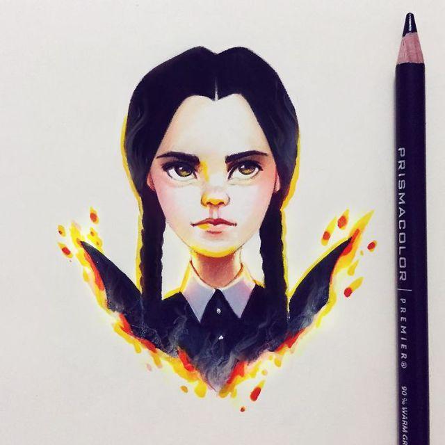 celebrites-dessinees-lera-kiryakova-34