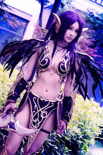 cosplay-sexy-elfe-nuit-world-warcraft