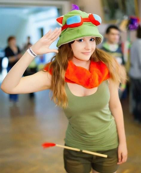 cosplay-sexy-teemo-league-legends