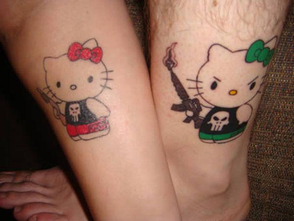 tatouage-paire-hello-kitty