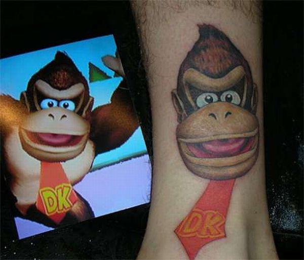 tatouages-jeux-videos-donkey-kong