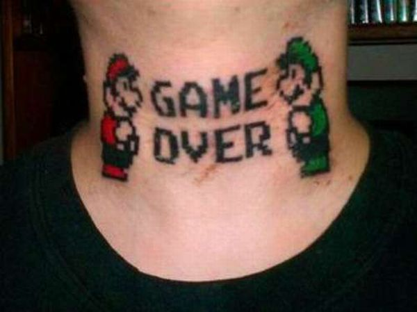 tatouages-jeux-videos-game-over