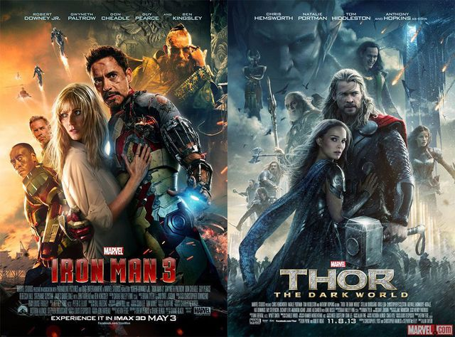 affiche-iron-man-3-thor-dark-world