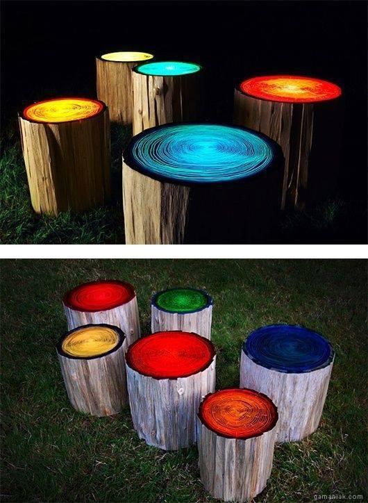 troncs-arbres-pot-peintures