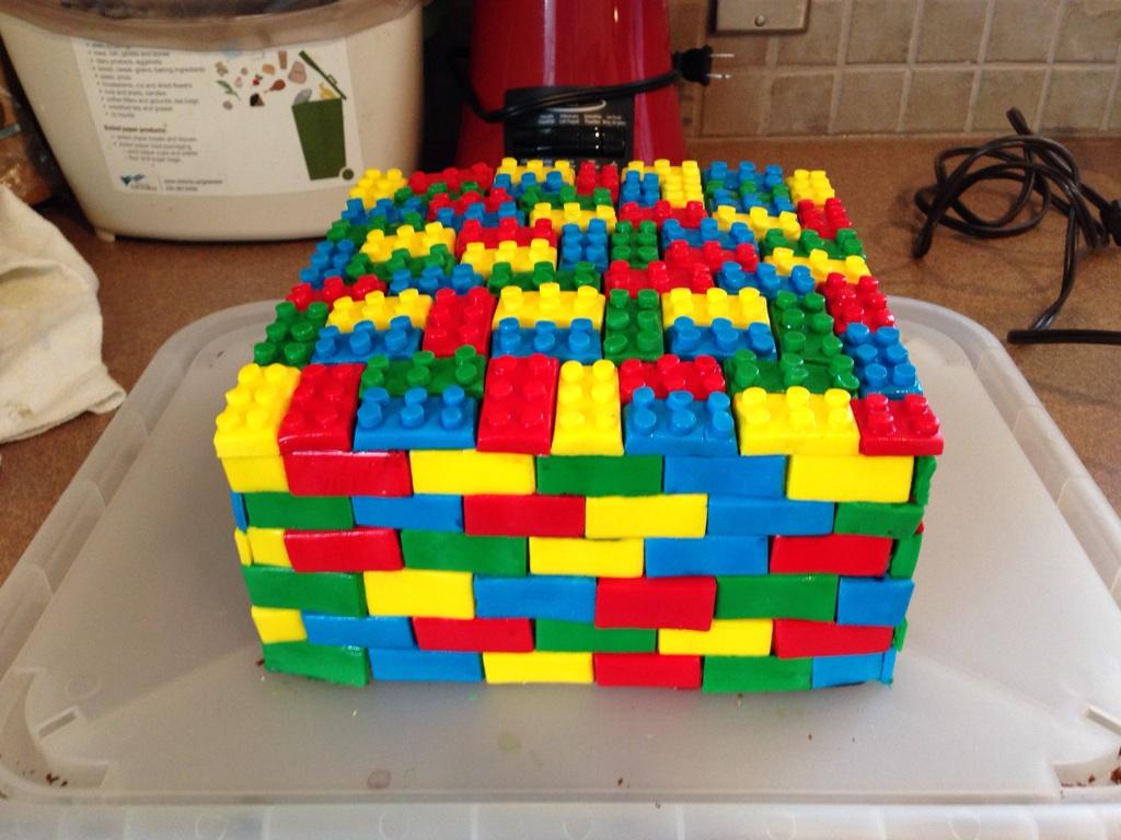 Gateau En Lego