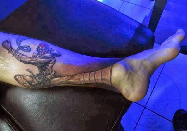 dhalsim-pied-tatouage