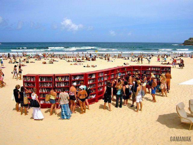 bibliotheque-plage