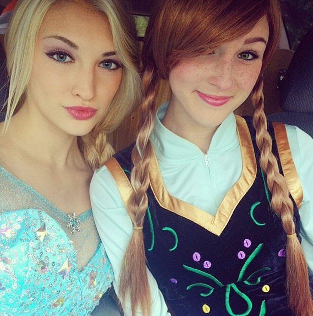 cosplay-elsa-anna-princesse-des-neiges