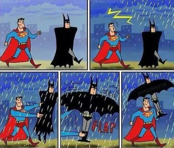 superman-batman-parapluie