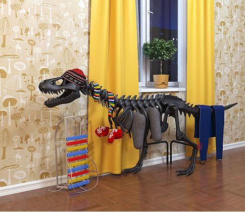 dinosaure-radiateur
