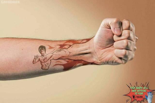 tatouage-main-bruce-lee