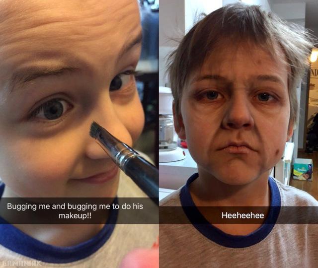 maquiller-enfant-vieux