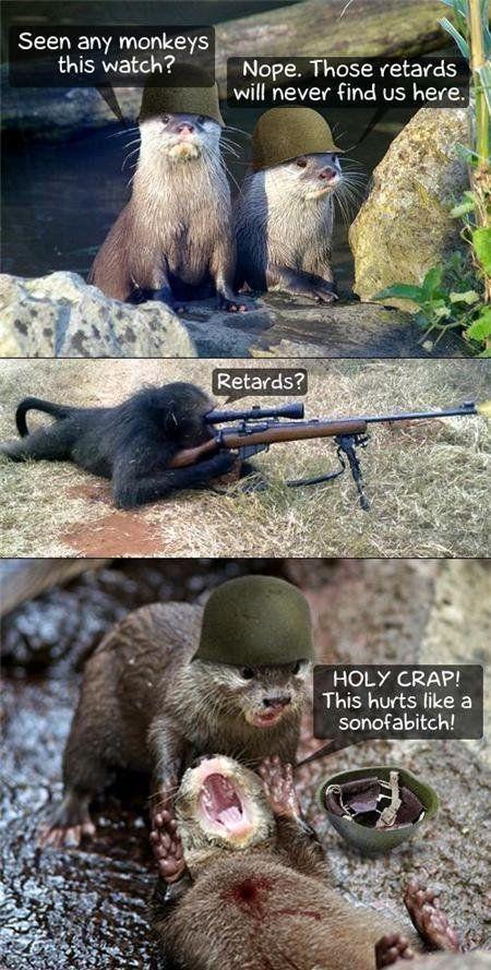 vrac-48-singe-sniper-vs-loutres