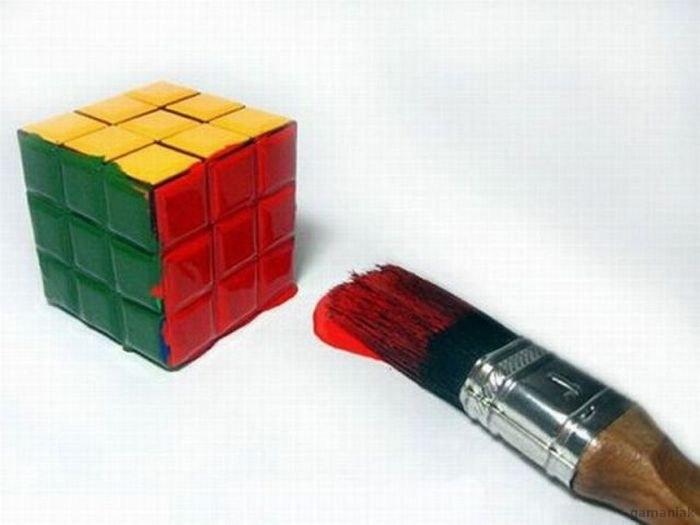 resoudre-rubik-cube-pinceau