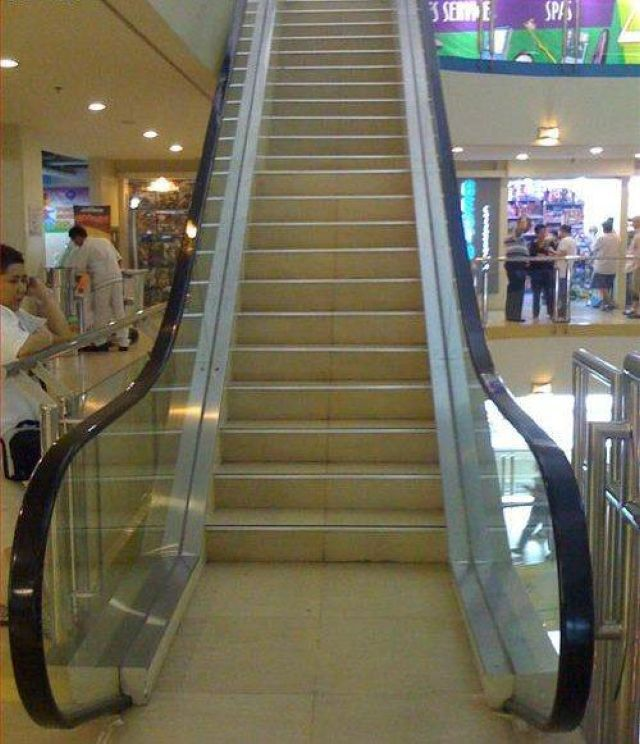escalator-escalier