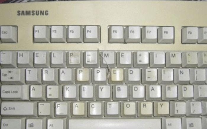 message-cache-clavier