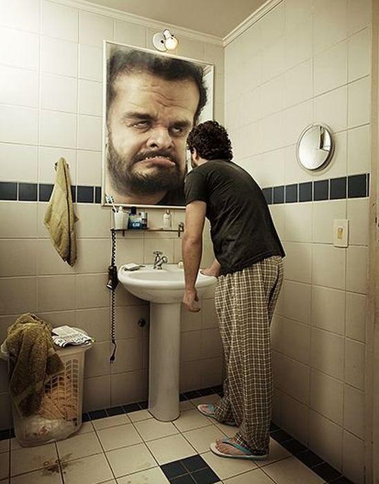 votre-tete-matin-dans-miroir