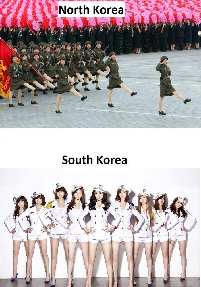 filles-coree-nord-filles-coree-sud