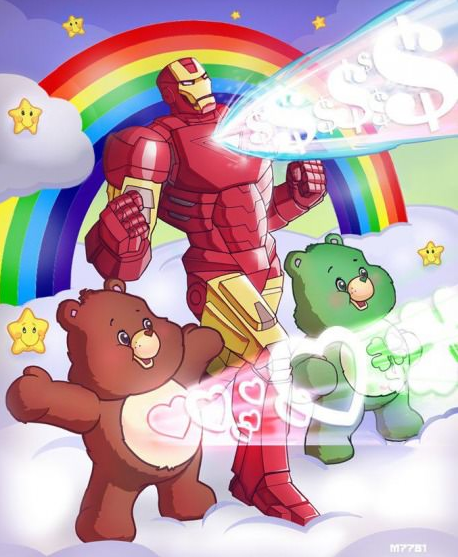 ironman-bisounours