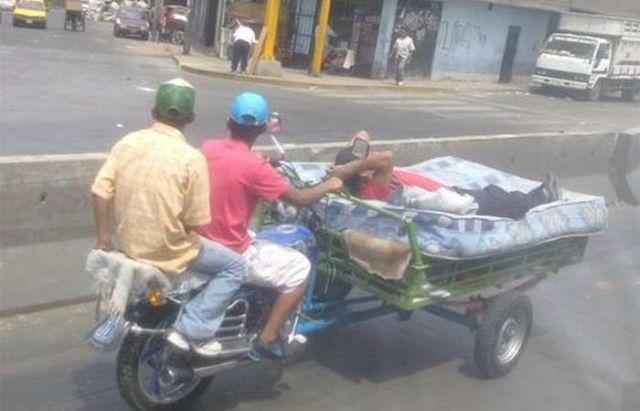taxi-matelas