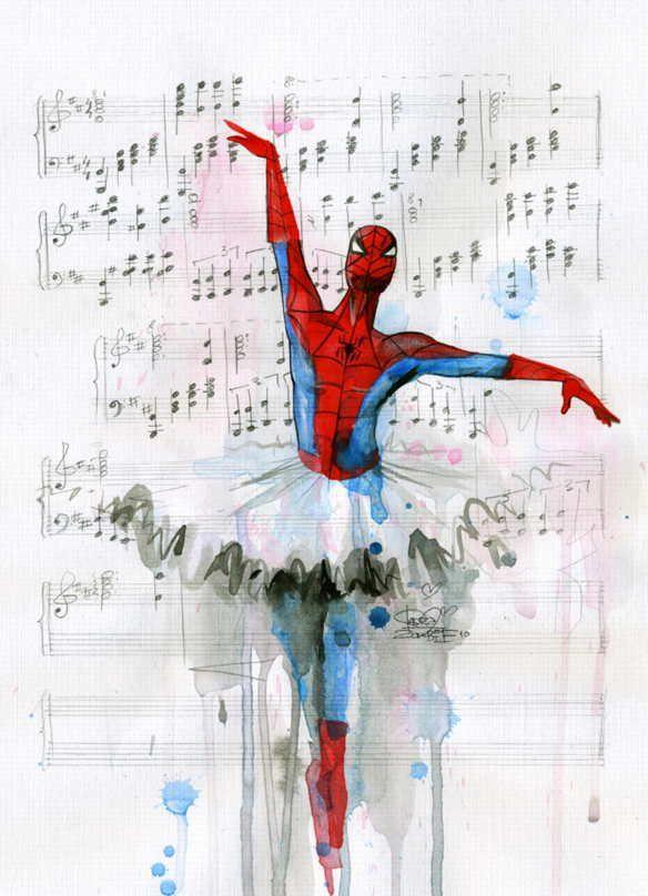 spiderman-cahier-musique