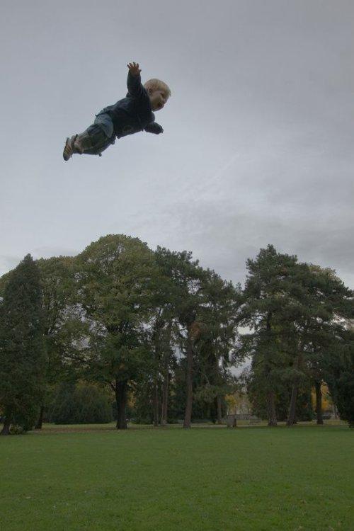bebe-volant