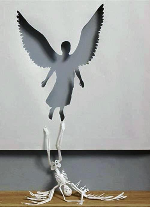 decoupage-ange-squelette