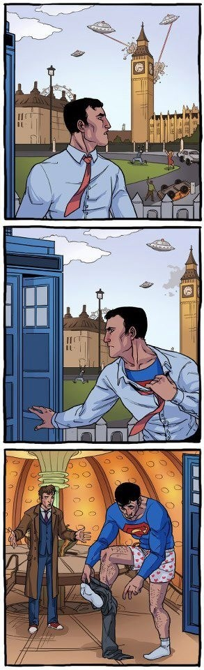 superman-rencontre-doctor-who