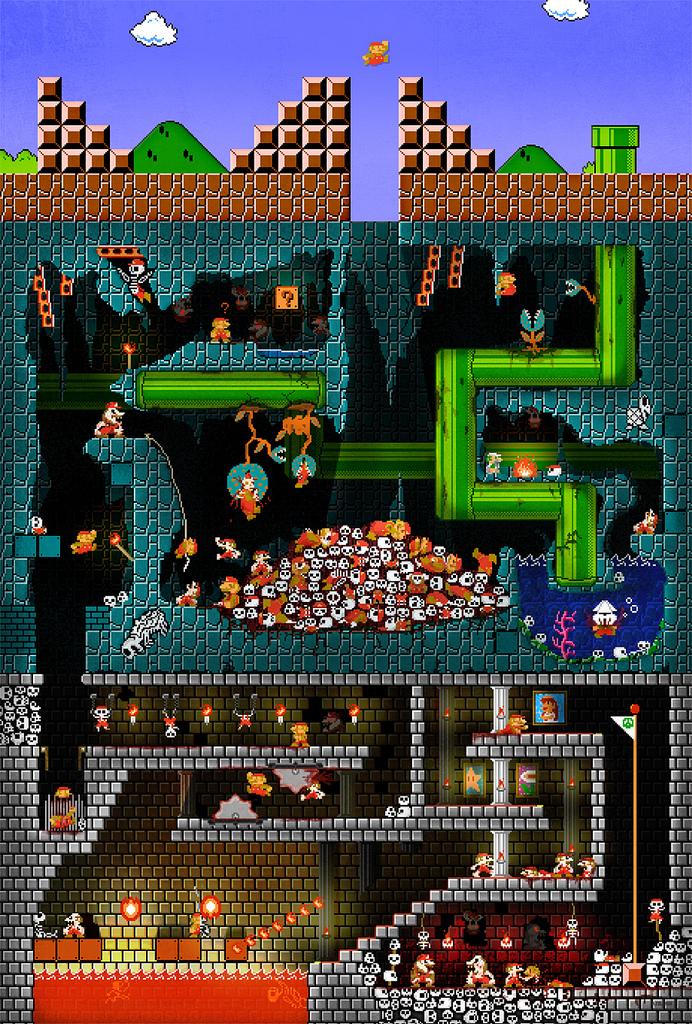 Image Dans les entrailles de Mario
