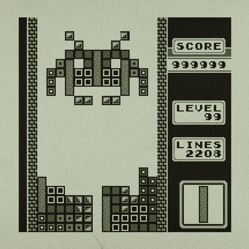 Image Boss de fin à Tetris