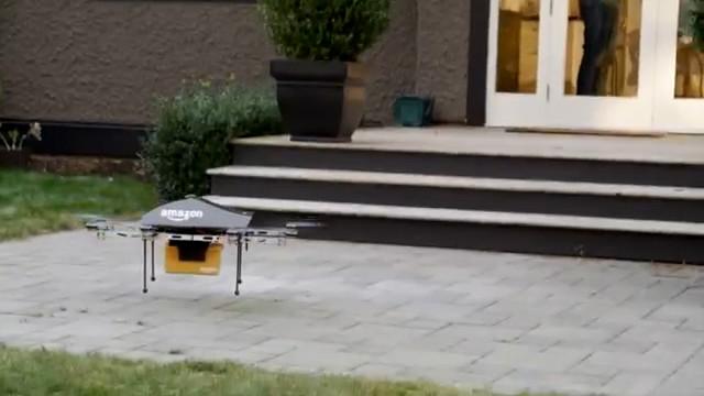 amazon prime air la livraison de votre colis par drone. Black Bedroom Furniture Sets. Home Design Ideas