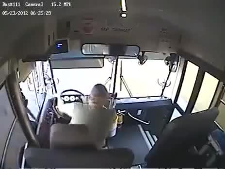 chauffeur de bus sans ceinture vs maison. Black Bedroom Furniture Sets. Home Design Ideas