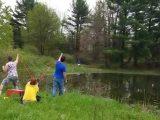 Catapulter une canette au dessus d'un lac