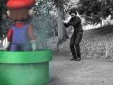 Duel entre Mario et son grand père