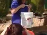 Un Ice Bucket Challenge qui fait mal
